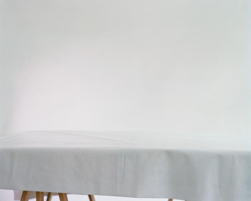 Stillleben, leerer Tisch