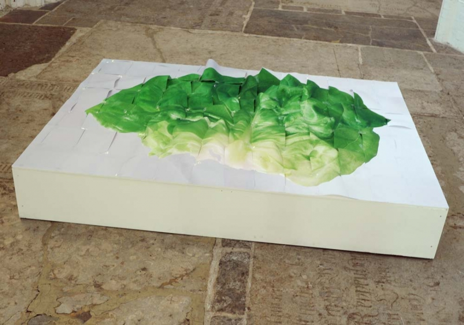 Installation St. Petri, Luebeck Salatobjekt