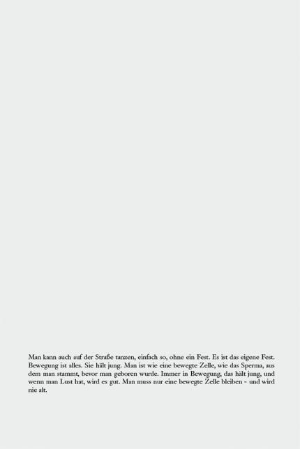 aus dem Buch Zuckerpuppe, Juwelia und Stefan, Textseite über die lebendige Zelle