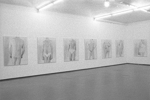 Abschied, Fotogalerie Wien, Abschied, meine Freunde in Unterwaesche